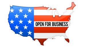 USA Open For Business